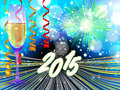 New Years Eve Background Royalty Free Stock Image - 47761876