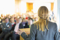 Speaker At Business Conference And Presentation. Royalty Free Stock Photography - 47768507
