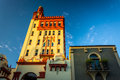 24 Cathedral Place In St. Augustine, Florida. Stock Image - 47777211