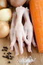 Chicken Feet, Spice And Vegetable Stock Photo - 47779140