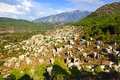The Ghost Town Kayaköy. Turkey Royalty Free Stock Photography - 47780487