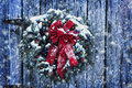 Rustic Christmas Wreath Royalty Free Stock Images - 47785609