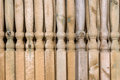 Wooden Posts Stock Photography - 47790522