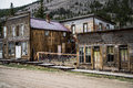 St Elmo Colorado Ghost Town - Abandoned Buildings Royalty Free Stock Photo - 47813235