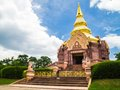 Thai Pagoda Of Wat Pa Sarawan Korat Stock Photo - 47820660