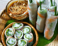 Vietnamese Food, Goi Cuon, Salad Roll Royalty Free Stock Photography - 47835737