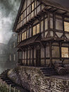 Old Wooden Tavern Royalty Free Stock Photography - 47853607