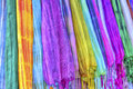 Colourful Etnic Scarves Stock Image - 47854561