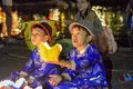 Vietnamese Boys Selling Offerings, Hoi An, Vietnam Royalty Free Stock Photography - 47855247