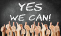 Yes We Can Royalty Free Stock Image - 47876716