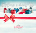 Holiday Christmas Background With Colorful Gift Boxes Royalty Free Stock Photos - 47878058