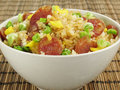 Sausage Fried Rice Stock Images - 4794004