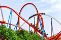 Roller Coaster. Royalty Free Stock Photo - 47904335