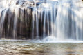 Close-up Scenic Waterfall Flowing On Stone, Thailand Royalty Free Stock Photography - 47918027