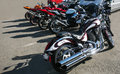 Motorcycles On Parking Stock Image - 47923031