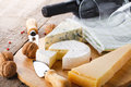 Cheese And Wine Royalty Free Stock Photo - 47929285
