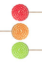 Colorful Lollipop Royalty Free Stock Photo - 47930525