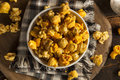 Chicago Style Caramel And Cheese Popcorn Royalty Free Stock Images - 47938339