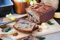 Homemade Banana Loaf Stock Images - 47973274