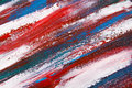 Texture Background - Close Up Of Blue And Red Paint Strokes Stock Photos - 47982183