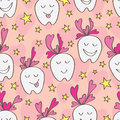 Love Teeth Seamless Pattern Royalty Free Stock Image - 47983846