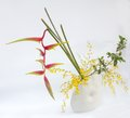 Ikebana Asia Thai Flower Decoration Stock Image - 47997441