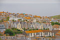 Beautiful And Unique Architecture Of Houses In St Ives Cornwall Royalty Free Stock Photos - 47999128