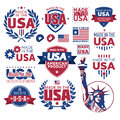 Label Made In The USA Royalty Free Stock Photos - 47999408