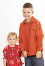 Brother And Sister Royalty Free Stock Photo - 484545