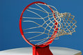Basketball Goal Viewpoint Royalty Free Stock Photography - 485647