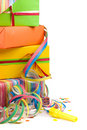 Colored Gift Boxes Royalty Free Stock Photo - 4800215