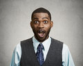 Shocked, Surprised Business Man Stock Images - 48009184