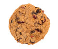 Cranberry Oatmeal Raisin Cookie Royalty Free Stock Image - 48015686