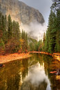 Merced River Yosemite Valley Royalty Free Stock Images - 48039869