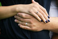Hands Of Married Couple Royalty Free Stock Photos - 48047458