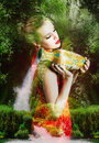 Beautiful Fairy Woman Royalty Free Stock Photography - 48064797