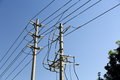 Power Pole Line Stock Images - 48067224