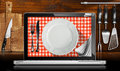 Laptop Computer In The Kitchen Stock Photos - 48070683