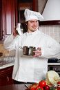 Kitchen Man Stock Photography - 4815612