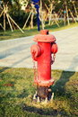 Red Fire Hydrant Royalty Free Stock Image - 48102376
