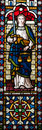 Lady Justice Stained Glass Window Royalty Free Stock Photography - 48105327