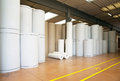 Warehouse (paper And Cardoboard) In Paper Mill Royalty Free Stock Photos - 48108868