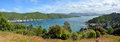 Waikawa Bay & Marina Panorama, Marlborough Sounds, New Zealand. Stock Photography - 48111272