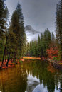 Merced River Yosemite Valley Royalty Free Stock Photography - 48119007