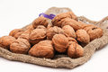 Walnuts In A Bag Stock Photo - 48127690