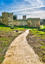 Path To Castle Stock Photography - 48129952
