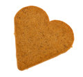 Gingerbread Heart Stock Photography - 48140472