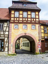 City Gate In The Old Town Of Bamberg Stock Images - 48147224