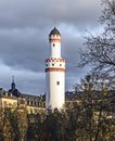 Weisser Turm Or White Tower In Bad Homburg Royalty Free Stock Image - 48148186