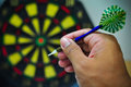 Darts Game Stock Image - 48149671